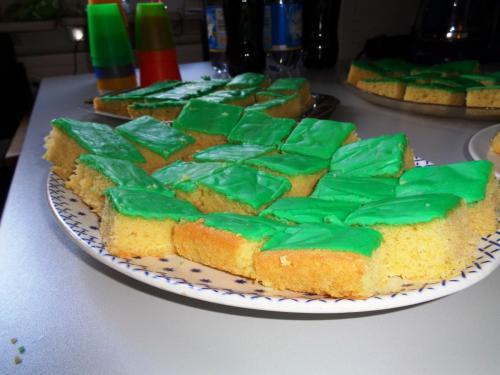 und natürlich auch lecker Kuchen